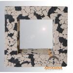 Pumish stone mirror - 70457