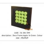 Apple wall deco - 6c dec 044