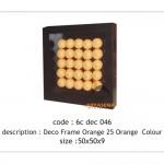 Orange wall deco - 6c dec 046