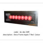 Apple wall deco - 6c dec 049