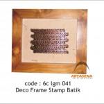Stamp batik deco - 6c lgm 041