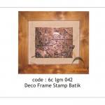 Stamp batik deco - 6c lgm 042