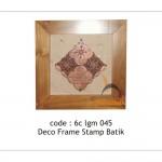 Stamp batik deco - 6c lgm 045