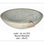 Round wastafel - 6c stn 015