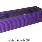 rectangular box - 6c wh 004