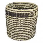 seagrass round basket - 6c wh 020