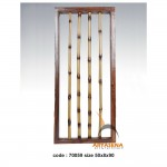 bamboo wall deco - 70059