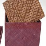 Square Batik Box - 70178
