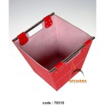 Square box with handle - 70319